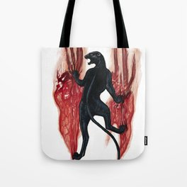 BLACK PANTHER SCRATCH Tote Bag