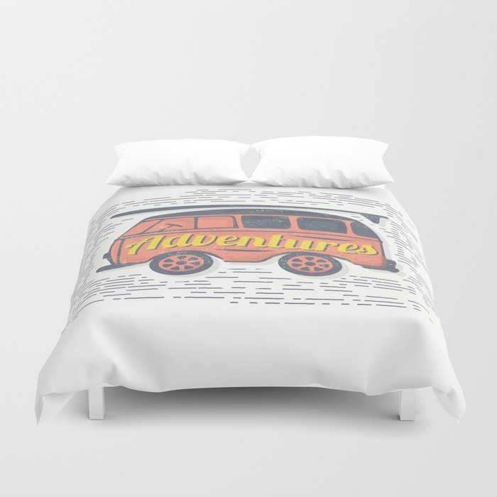 Adventure T-Shirt Duvet Cover
