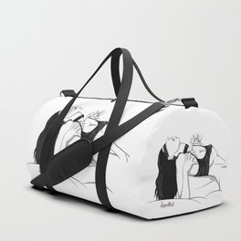 Clothed Scream 02 Duffle Bag