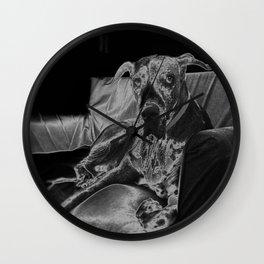 TAMIS - GREAT DANE Wall Clock