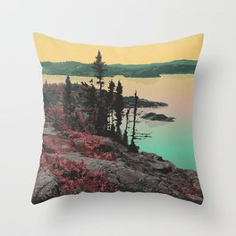 Pukaskwa National Park Throw Pillow