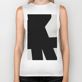 Abstract Form 03 Biker Tank