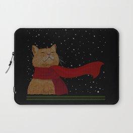 Knitted Wintercat Laptop Sleeve