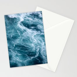 Ocean Storm | Classic Blue | Landscape Photography | Beach Stationery Cards
