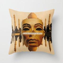 Symmetrical Forces Throw Pillow