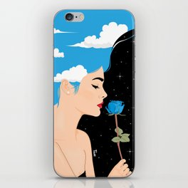 Scent Of Blue iPhone Skin