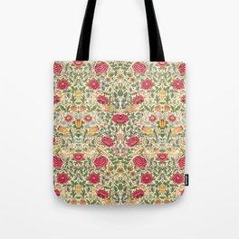 "William Morris ""Rose"" Tote Bag"