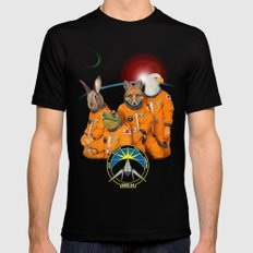 STARFOX - The Lylat Space Program Mens Fitted Tee Black X-LARGE