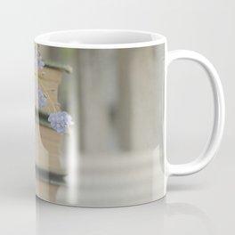 Forget Me Not Bookmark Coffee Mug