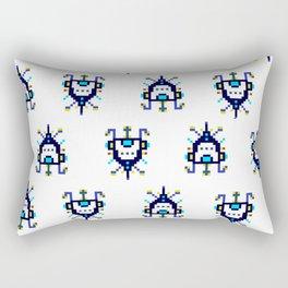 Alien Ship - Pattern Rectangular Pillow