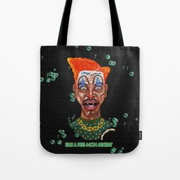 She Took Money From a Clown Tote Bag