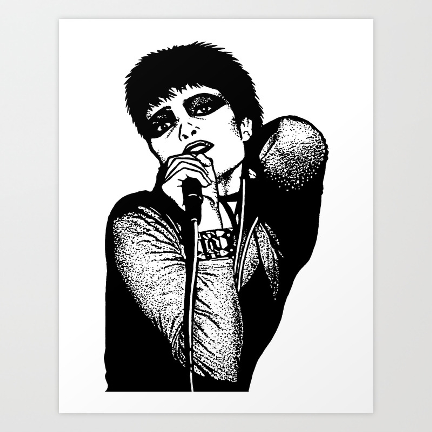 Siouxsie Sioux Of Siouxsie And The Banshees Art Print By