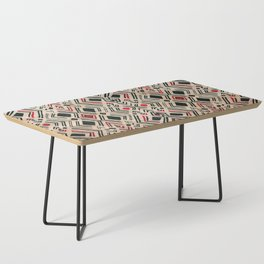 N58 - Traditional African Berber Moroccan Antique Style Artwork Coffee Table