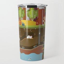 Big World, Little People Travel Mug