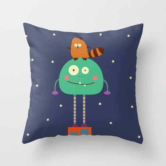 Moncho Throw Pillow