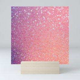 Ombre Glitter 16 Mini Art Print