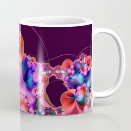 Hibiscus in Red Coffee Mug