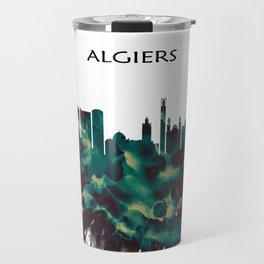 Algiers Skyline Travel Mug