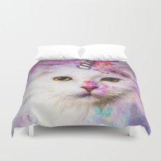 Unicorn Cat Duvet Cover