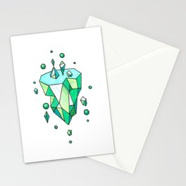 Little Emerald World Stationery Cards