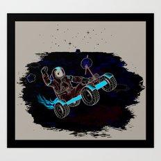Space Dementia Art Print