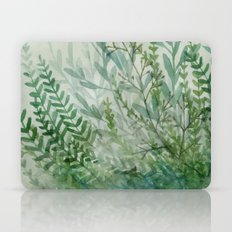 Ferns and Fog Laptop & iPad Skin