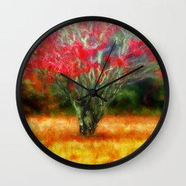 Autumn Impression Wall Clock