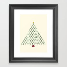 Christmas Treeangle Framed Art Print