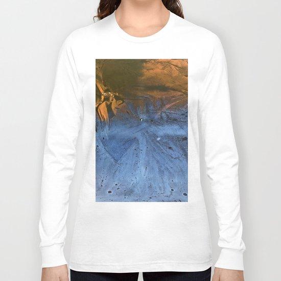 Ocean At Night Jean Copper Long Sleeve T-shirt