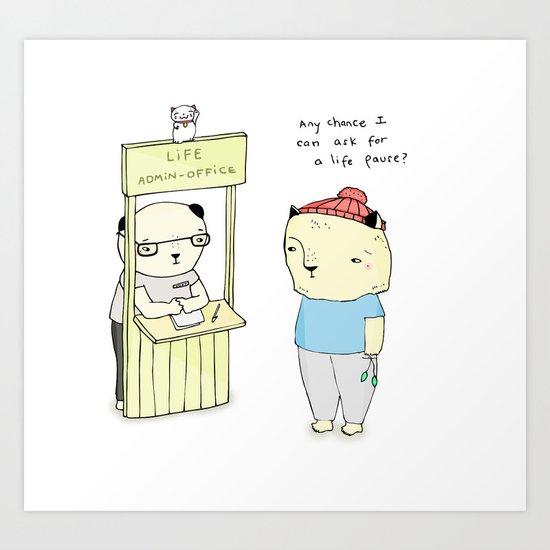 LAO Art Print