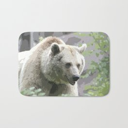 Bear Poster Bath Mat
