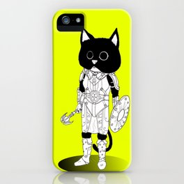 Ju'Lias, Khajiit of Adventure iPhone Case