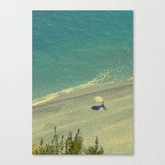 Lady on the Italian Riviera Canvas Print