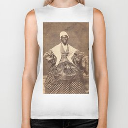 Sojourner Truth Vintage Photo, 1863 Biker Tank