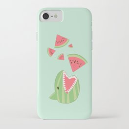 Watermelon Shark iPhone Case