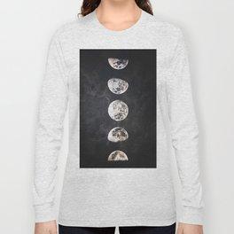 Mistery Moon Long Sleeve T-shirt