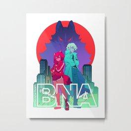 Brand New Animal Metal Print
