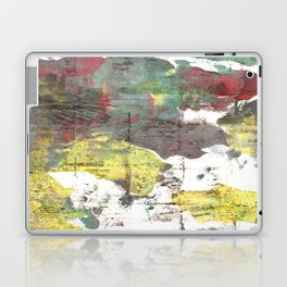 Wenge abstract watercolor Laptop & iPad Skin