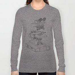 microscope Long Sleeve T-shirt