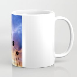 """Butterfly Beach Palms"" Sunsets Coffee Mug"