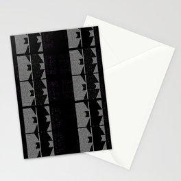 Body Suits - Black-n-White Zig-Zag stripes Stationery Cards