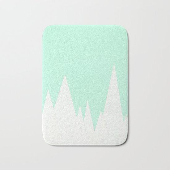 Winter Landscape Bath Mat