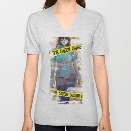 """SNSD - Jessica """"Here comes trouble"""" Unisex V-Neck"""