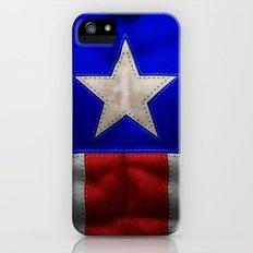 captain america iPhone (5, 5s) Slim Case