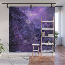 Space Mountains Wall Mural