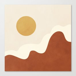 abstract minimal 40 Canvas Print