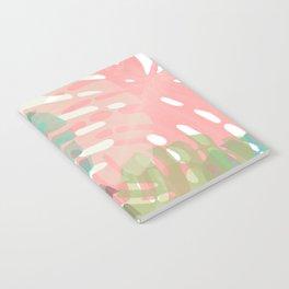 Monstera Pastel Notebook