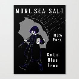 Mori Salt Canvas Print