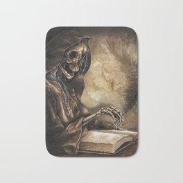 Skeleton Scribe Bath Mat