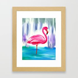 Flamingo Fabulousness Framed Art Print